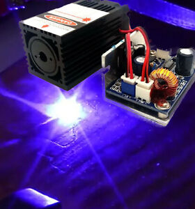 450nm 2000mw Blue Laser Module for Stage Light Show analogue Modulation