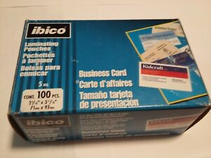 Ibico Clear Thermal Laminating Pouches 5mil 51005