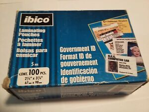 Ibico Clear Thermal Laminating Pouches 5mil 56005