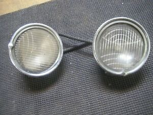 Vintage Pair 20 S 30 S Cowl Lights Assembly S 4 1 2