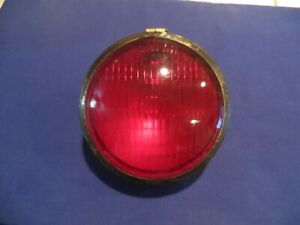 Vintage Red 6 Vehicle Or Trailer Stop Light S M Lamp Co No 57rr