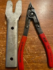 K d Tools 2822 Door Panel And 2534 Snap Ring Plier Usa