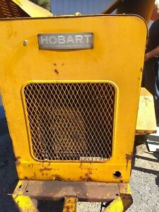 Hobart 400 Amp Welder Ac Dc With Leads 6 Cylinder Chrysler Motor Runs Well