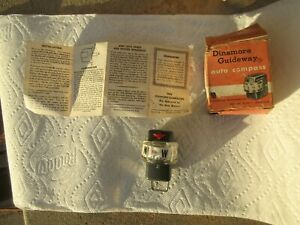 Nos Vintage Dinsmore Dash Mount Compass Accessory Chevy Ford Dodge Pontiac Buick