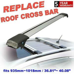 Car Roof Rack Cross Bars Carries Holder Shelf W lock Clamps Accessories Durable