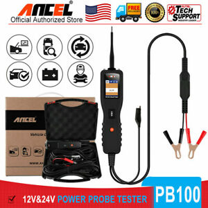 12v 24v Power Probe Circuit Tester Electrical System Powerscan Test Battery Test