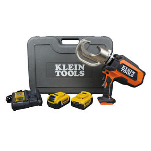 Klein Bat20 12t1651 Battery operated 12 ton Crimper Kit pack Of 1