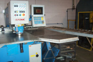 30 Ton Euromac Cx1000 30 Cnc Punch 78 74 X Axis Travel 39 37 Y Axis Travel 25