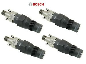 For Audi Volkswagen Rabbit Golf Jetta Pickup 4 Diesel Injectors Bosch 0432217077