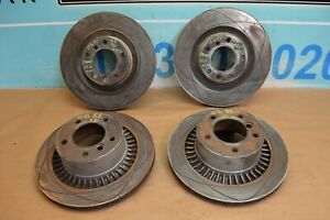 2011 W463 Mercedes G55 Amg Front And Rear Brake Rotors Rotor Set Of 4 Used