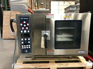 Alto Shaam 6 10esg Lightly Used Natural Gas Combi Convection Oven Steamer