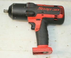 Snap On Ct78500 1 2 Drive Li Ion Cordless Impact Wrench As Is Needs Repair