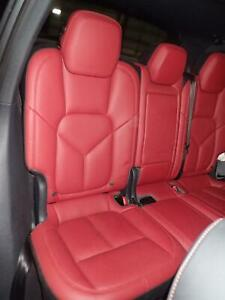 11 12 13 14 15 16 17 18 Cayenne Right 2nd Row Leather Seat Heated 40 Black red