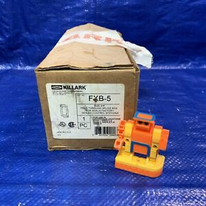 Killark Fxb 5 3 4 Feed Through Splice Box For Seal x Factory Sealed Control Sta