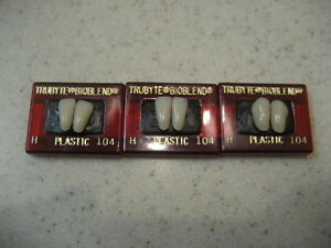 Dentsply Denture Trubyte Bioblend Lower Anterior Mould H 104 Free Us Shipping