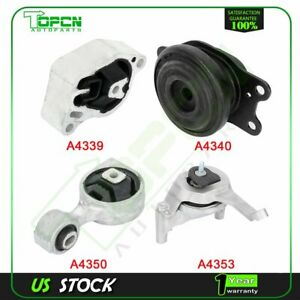 4x Engine Motor Mount For Nissan Altima L4 2 5l 2007 2008 2009 2010 2011 2013