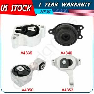 Engine Motor W Trans Mount For Nissan Altima 2 5l 07 12 Auto Cvt Trans 4pcs