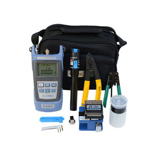 Fc 6s Fiber Optic Ftth Tool Kit Cleaver Optical Power Meter Electrical Device