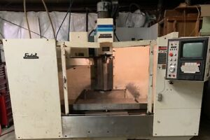 Used 1998 Fadal Vmc 4020ht Cnc Vertical Machining Center Mill Thru Spindle 10k