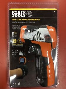 new Klein Tools Dual laser Infrared Thermometer ir5