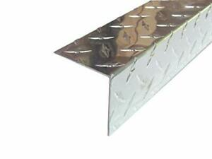 Aluminum Diamond Plate Angle 062 X 2 5 X 2 5 X 48 In 3003 Uaac 10pcs