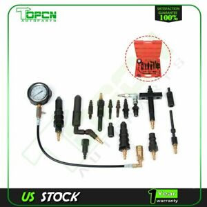 1000psi Diesel Engine Compression Gauge Tester Kit For Auto Car Tractor Trucks