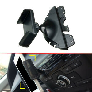 1x Abs Universal Support Holder Car Cd Slot For Phone Gps For Iphone Samsung Mp3