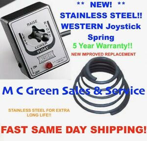 New Western Fisher Joystick Controller Replacement Spring Snow Plow Unimount