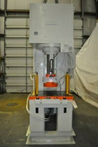 100 Ton Denison C Frame Hydraulic Press 24 Daylight 12 Diameter Ram 35 X 23
