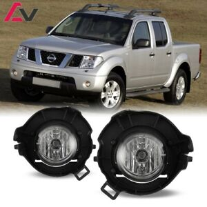 For Nissan Frontier 05 09 Clear Lens Pair Bumper Fog Light Lamp Oe Replacement