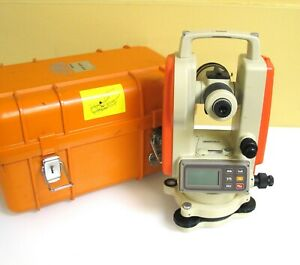 Pentax Eth 120f Digital Transit Theodolite For Surveying