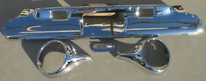 X Thunderbird Rear Back New Triple Chrome Plated Bumper 61 63 1961 1963 Ford Oem