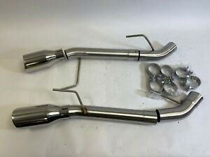 Plm 2 5 Dual Axle Back Muffler Delete With Tip For Ford Mustang 05 10 Open Box