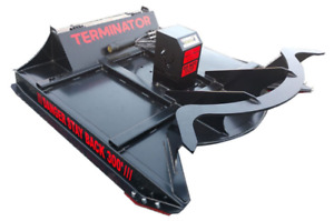 Brush Cutter For Skid Steer Ctl And Mtl 72 Rut Mfg Terminator 15 27 Gpm