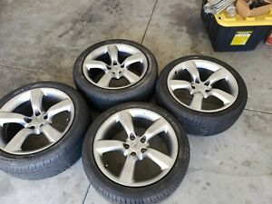 350z Front And Rear 18 Inch Oem Factory 18 Inch Wheels And Tires