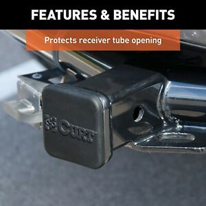 Rubber Trailer Hitch Cover Fits 2 Inch Receiver