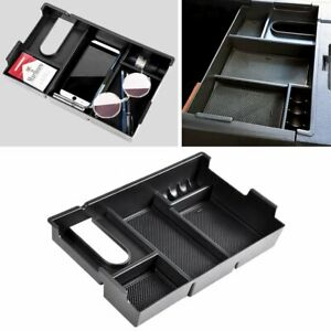 Center Console Armrest Storage Organizer Tray Box For 14 19 Toyota Tundra Truck