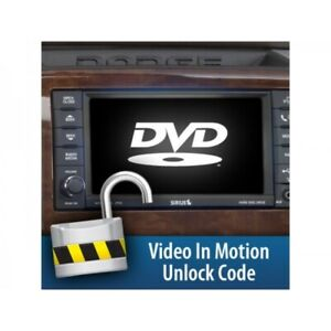 H S Video In Motion Unlock Code For Mini Max Black Maxx And Xrt Pro Tuners