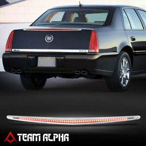 Fits 2006 2011 Cadillac Dts Black Clear Led Third 3rd Brake Light Tail Lamp