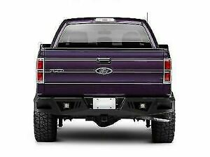Black Horse Armour Heavy Rear Bumper Led Fits 17 21 Ford F 250 350 Super Duty