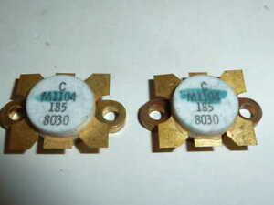 Mrf646 40 Watt Silicon Npn 470 Mhz Uhf Rf Power Transistors Matched Pair Nos