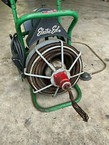 Electric Eel Model E Plumbing Drain Snake Rooter Auger 50 Ft