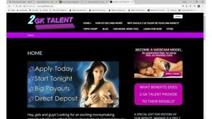 Webcam Models Management Business Website For Sale Turnkey Ready To Launch