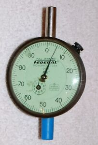 New Federal Dial Indicator Gage D81s Full Jeweled 1 X 001 Face 2 75