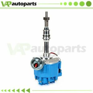 For Ford Windsor 221 260 289 302 V8 Hei Ignition Distributor With Blue Cap