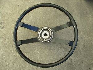 Porsche 914 4 1970 71 Factory Vdm Hard Rubber Ebonite Steering Wheel Date 4 70