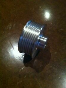 2 90 8 Rib Supercharger Pulley For Powerdyne Scorpion Vortech 20mm Bore
