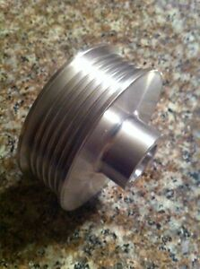 2 80 7 Rib 6 Rib Supercharger Pulley For Vortech Powerdyne Scorpion 20mm Bore