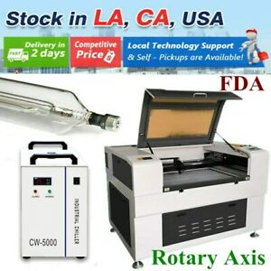 Usa 51 X 35 130w Auto focus Co2 Laser Cutter Engraver Rotary Axis With Fda