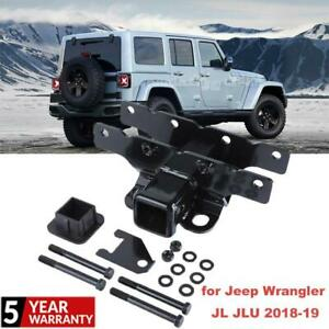 For 2018 2019 Jeep Wrangler Jl Jlu High Strength Tow Trailer Hitch Receiver New